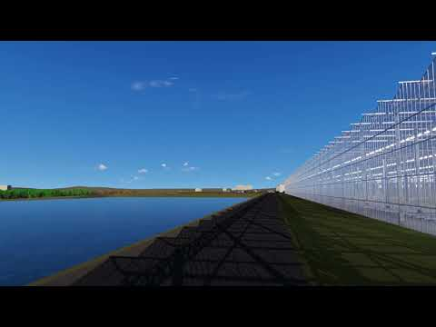 AppHarvest greenhouse in Morehead, KY, USA –  in 3D rendering  07/2019