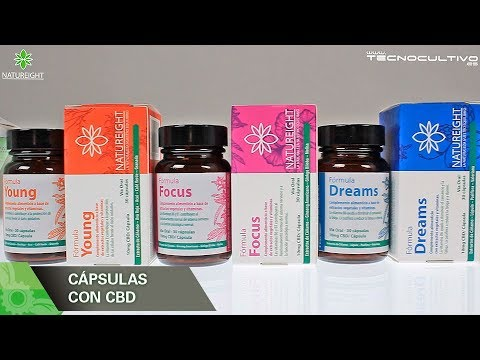 Cápsulas con CBD Natureight