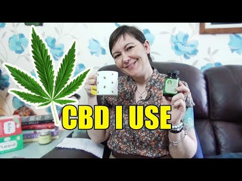 The CBD products I use