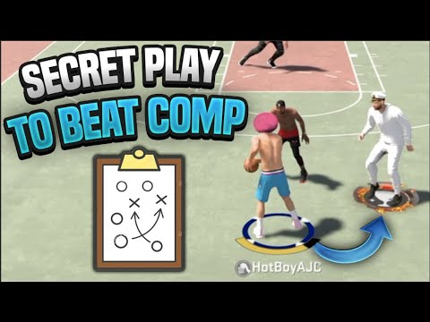 EXPOSING THE SECRET PLAY 2K COMP PLAYERS USE!  – NBA 2K20 Tips
