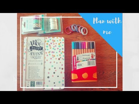 HOW TO: PLAN WITH ME | JULI WEEK 27 | BULLET JOURNAL