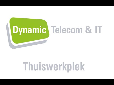 Dynamic Telecom en IT – thuiswerken