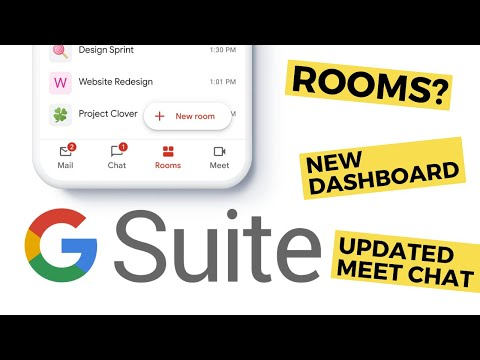 Introducing GSuite's New Look