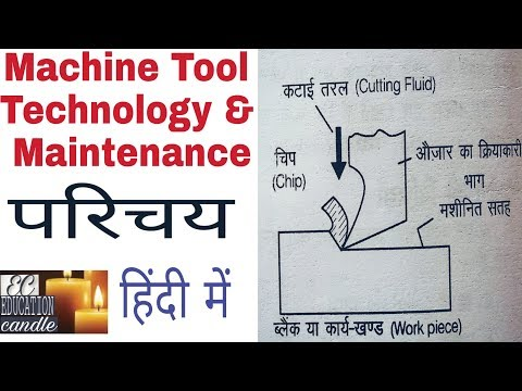 MACHINE TOOL TECHNOLOGY & MAINTENANCE INTRODUCTION  IN HINDI