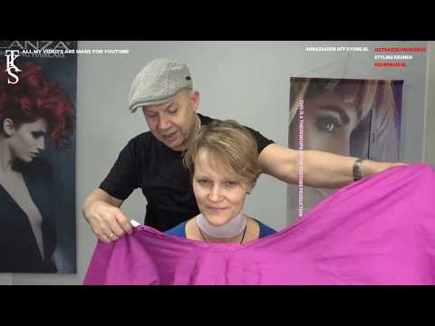 PIXIE Short Hairstyle and Fresh Color, Simone first time models! Tutorial by TKS