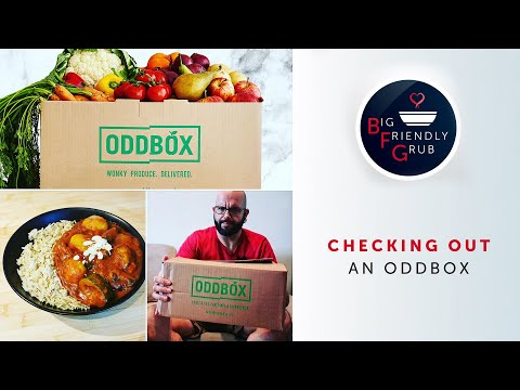 Checking out an ODDBOX | Making a Vegetable Curry using surplus veg