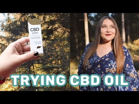 Trying CBD Oil for Anxiety | Life in Slovenia