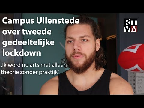 Studenten campus Uilenstede over tweede halve lockdown en mondkapjesbeleid