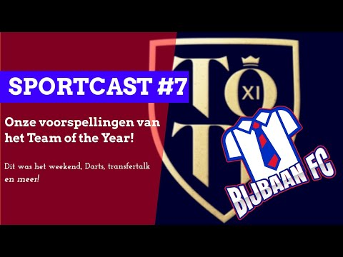 bijbaan Sportcast #7 (transfers, darten, en team of the year)